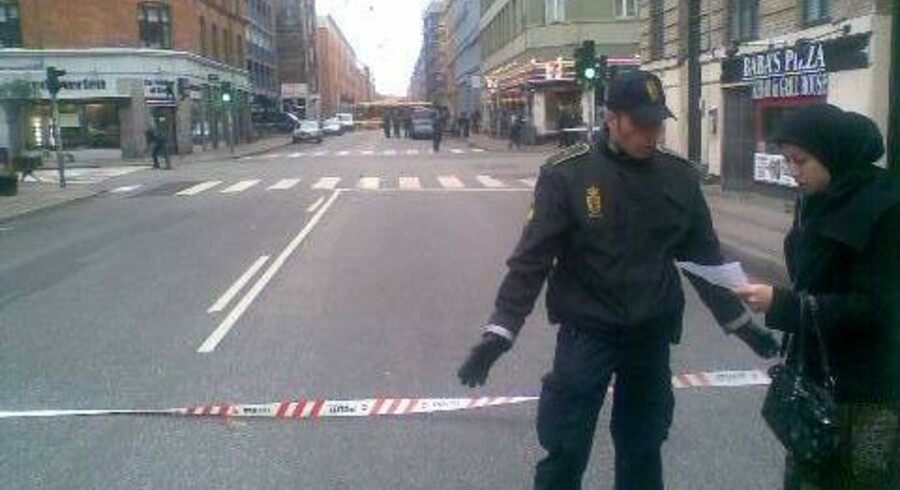 Politi efterforsker muligt skudhul på Rantzausgade.