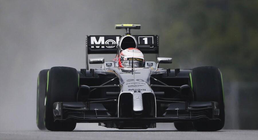 Kevin Magnussen kvalificerede sig som ottende hurtigste kører til søndagens grand prix i Malaysia.