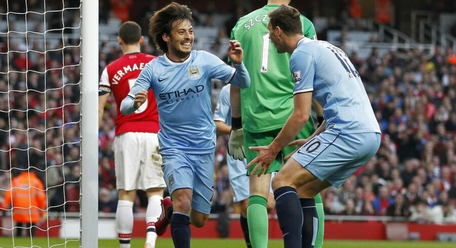 David Silva bringer City foran 1-0.