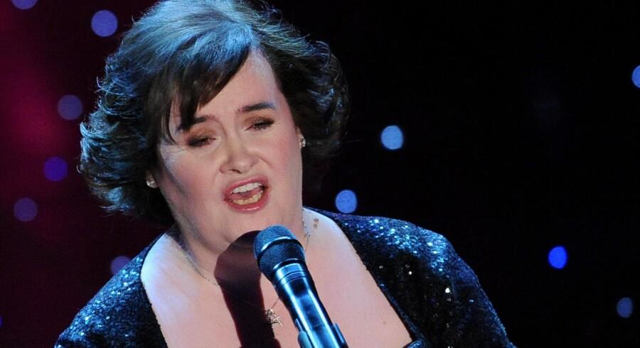 Sangerinden Susan Boyle udgiver nu også en biografi.