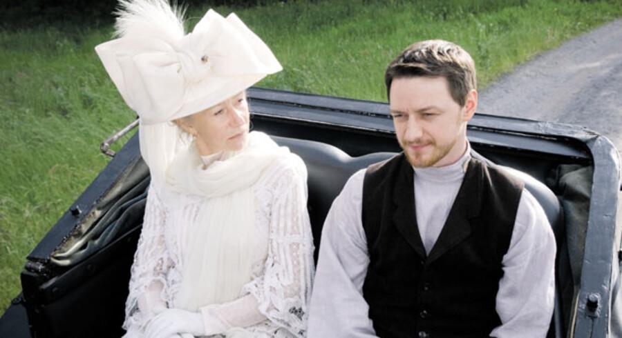 Helen Mirren spillede med i »The Last Station« i 2009, og blev oscarnomineret for rollen som Leo Tolstoys kone Sofya.