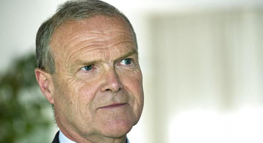 DBUs afgående formand, Allan Hansen.