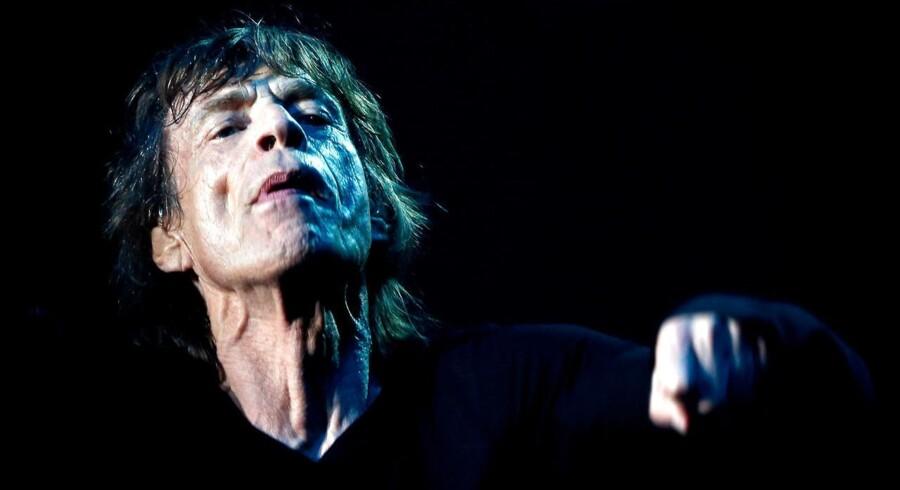Mick Jagger er frontmand i Rolling Stones.