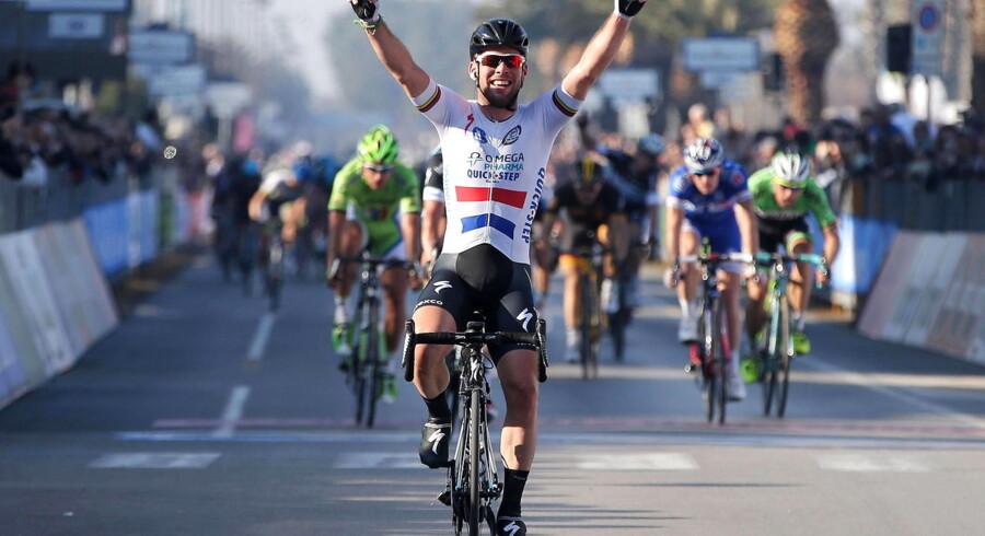 Supersprinteren Mark Cavendish var ganske suveræn på de afgørende meter ved dagens etape af Tirreno-Adriatico.