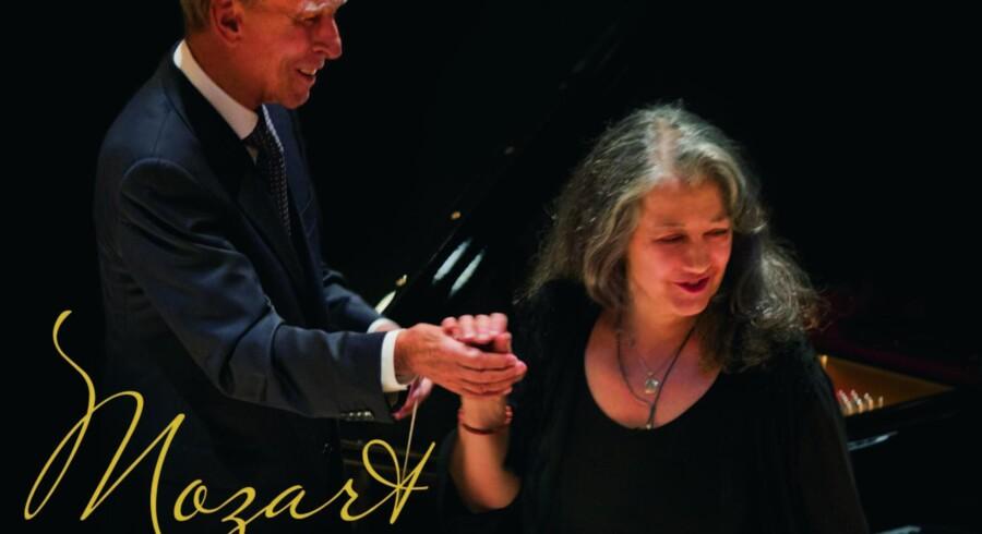 Martha Agerich på klaver og Claudio Abbadi spidsen for Orchestra Mozart.