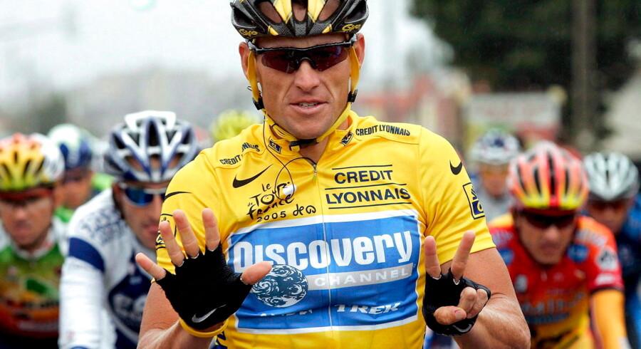 Lance Armstrong har vundet Tour de France syv gange.