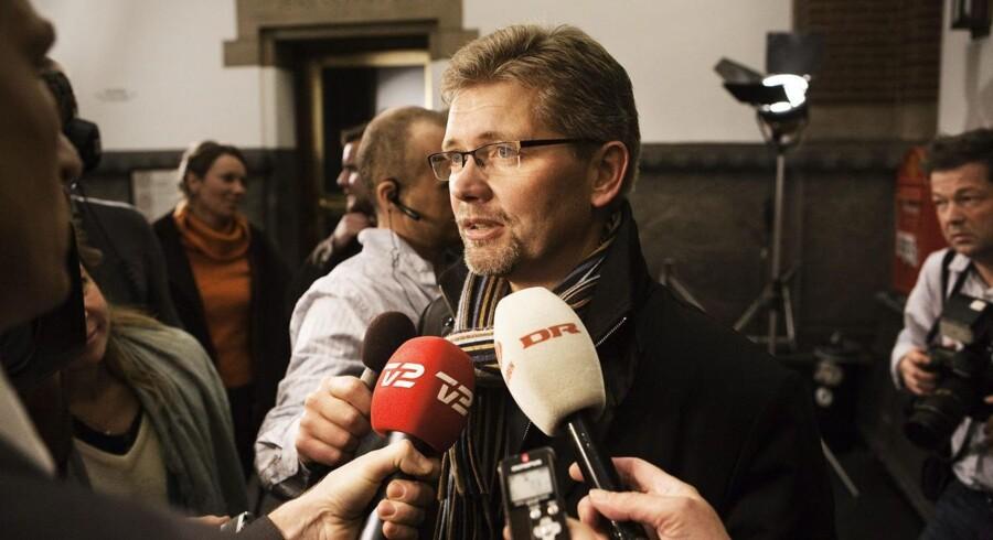 Frank Jensen afviser for nuværende at kommentere angrebene fra Lars Dueholm.