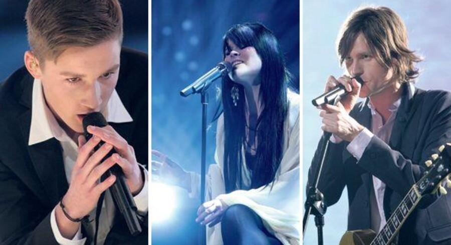 Jesper, Tine og Thomas er de tre absolutte hovedpersoner, når DR i aften blænder op for sin store finale i dette års X Factor. Vinderen har udsigt til den store pladekontrakt og drømmen om endegyldigt at bryde igennem.