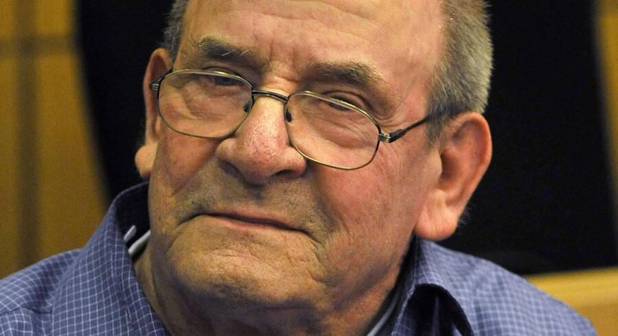 Henrich Boere under første retsdag i sagen mod ham, 28. oktober sidste år.