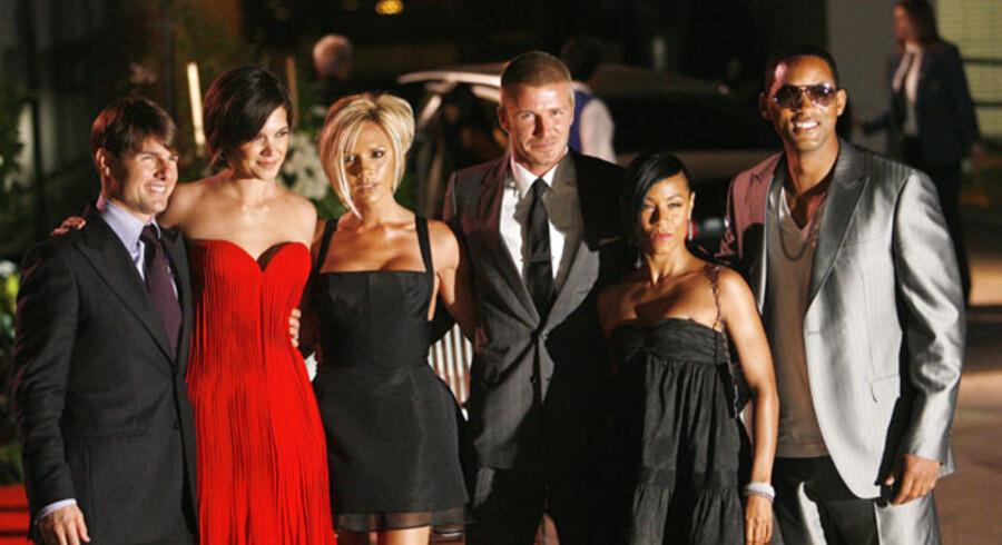 Med det ikoniske nummer 23 på ryggen har David Beckham indtaget USA og amerikansk fodbold med en kontrakt med Los Angeles Galaxy, der over fem år vil indbringe Beckham 1,2 mia. kr. Victoria og David Beckham har efter flytningen til Los Angeles knyttet nære venskaber med blandt andre megastjernen Tom Cruise og hustru Katie Holmes samt skuespiller Will Smith og hans hustru Jada Pinkett Smith. Venskaberne har kun forstærket rygterne om, at David Beckham snart er på rollelisten i en stor Hollywood-film.