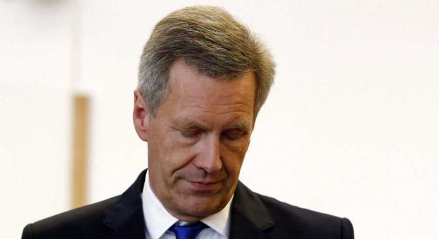 Renset. Den tidligere tyske præsident Christian Wulffer frikendt for anklage om bestikkelighed. Foto: REUTERS/Tobias Schwarz