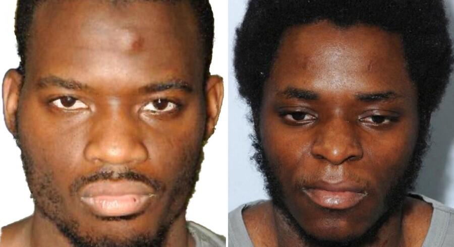 De to fanatiske muslimer Michael Adebolajo og Michael Adebowale, der slog den britiske soldat Lee Rigby ihjel blev onsdag idømt henholdsvis livsvarigt og 45 års fængsel for det bestialske drab.
