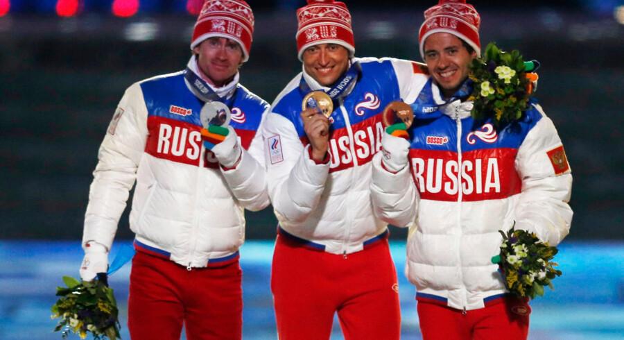 Det er endnu uvist, om de tre russiske medaljevindere i 50km massestart i langrend har benyttet sig af den præstationsfremmende xenon-gas, der ikke står på dopinglisten.