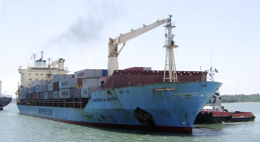 ARKIVFOTO 2009 af Maersk Alabama.