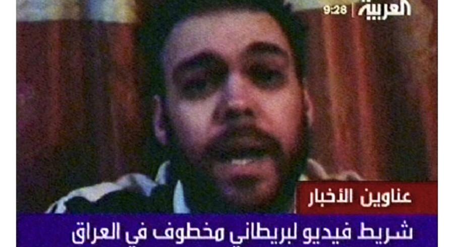 Peter Moore tonede 26. februar 2008 frem på Al-Arabiya og bad premierminister Gordon Brown om at blive udvekslet med irakiske fanger.