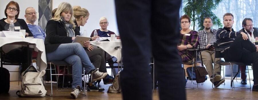 32 lokalpolitikere fra Allerød, Fredensborg, Herlev, Hørsholm og Næstved kommuner var forleden samlet for at blive klogere på den kommunalpolitiske sfære.