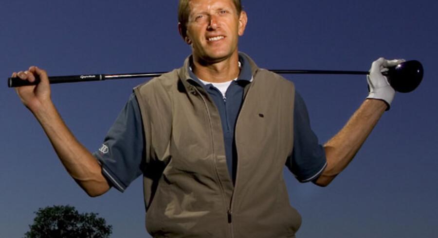 Steen Tinning er efter sin aktive golkarriere gået ind i investeringer i golfbaner. Arkivfoto: Søren Bidstrup