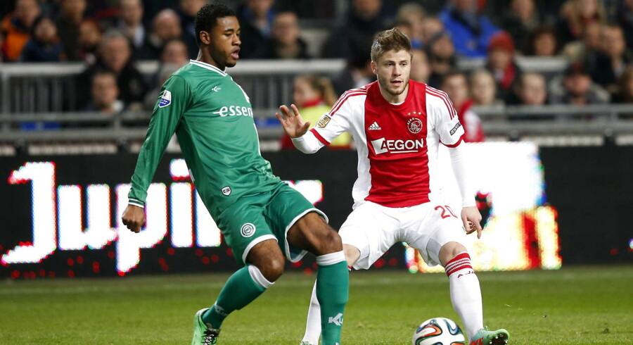 Lasse Schøne scorede på straffespark i Ajax-sejren over Groningen