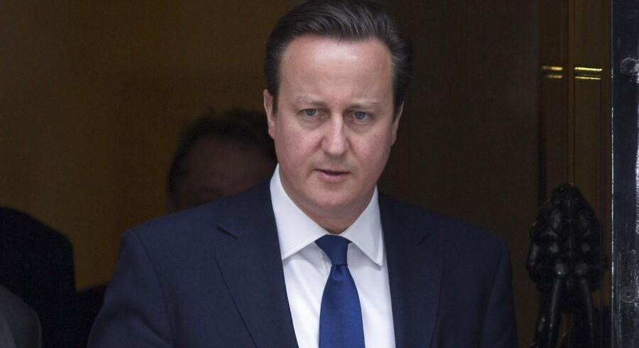 Storbritanniens premierminister, David Cameron.