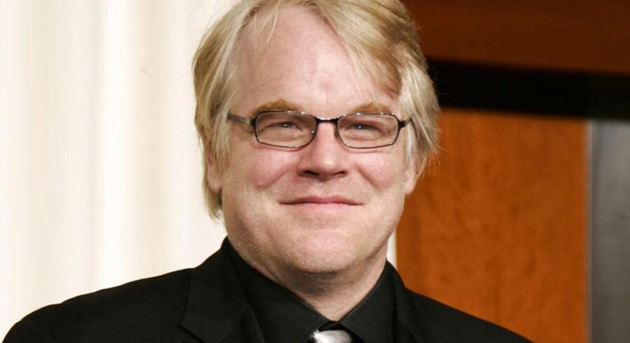 Philip Seymour Hoffman, da han vandt en Oscar for bedste mandlige hovedrolle i filmen »Capote« i marts 2006.