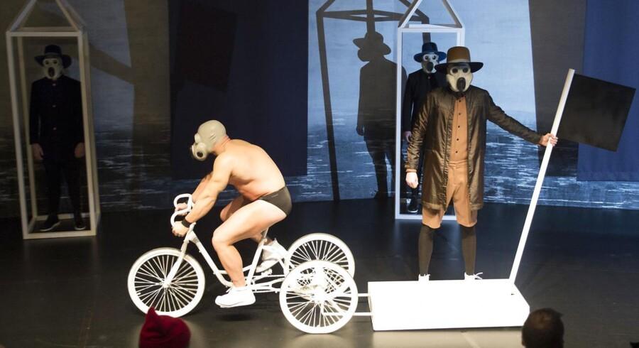 Copenhagen Fashion Week Han Kjøbenhavn - modeshow på Nationalmuseet. Onsdag 29. januar 2014