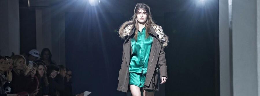 Copenhagen Fashion Week Torsdag 29.01.2014. Modeuge. Benedikte Utzon Wardrobe afholder show i det gamle Daells varehus.