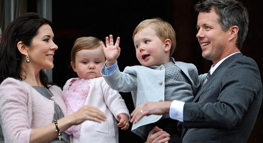Danskernes opbakning til ligestilling i kongehuset er faldende.