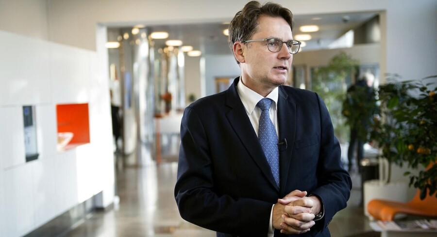 Arkivfoto: Hvidvask skal stoppes ved hårde straffe og større bankansvar, mener erhvervsminister Brian Mikkelsen (K).