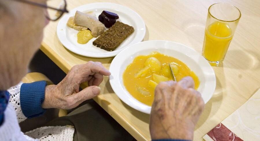 Der er utilfredshed med madens tilstand på flere plejehjem (arkivfoto)
