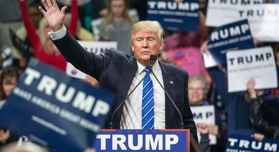 Donald Trump. ARKIVFOTO.