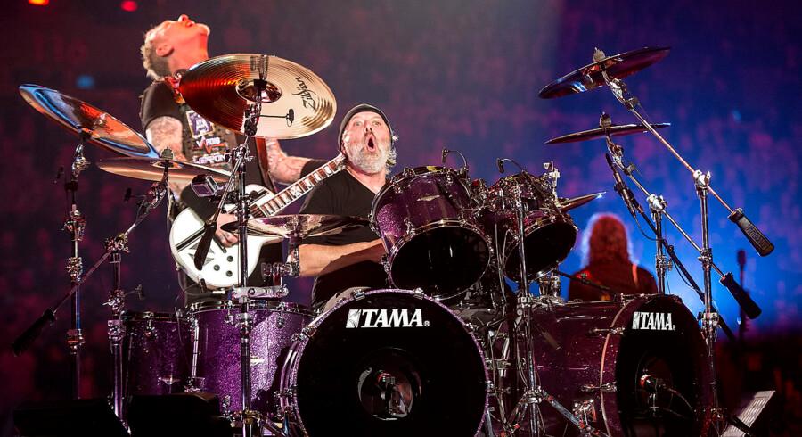 Metallica spillede fredag aften den første koncert i Royal Arena.