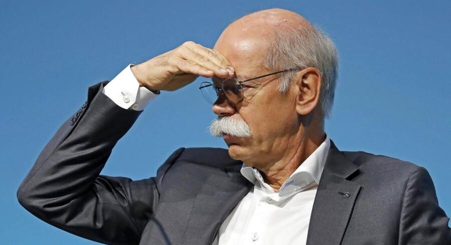 Formand for Daimler og topchef i Mercedes Benz, Dieter Zetsche.