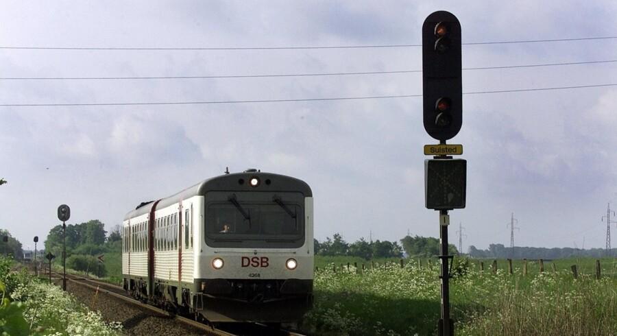 Danmarks største jernbaneprojekt bliver forsinket med yderligere syv år og ramt af ekstraregning på yderligere 2,8 milliarder kroner. Scanpix/Henning Bagger