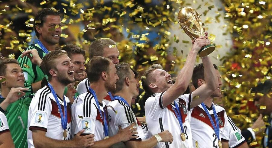Tyskland vandt verdensmesterskabet i 2014 i Rio de Janeiro