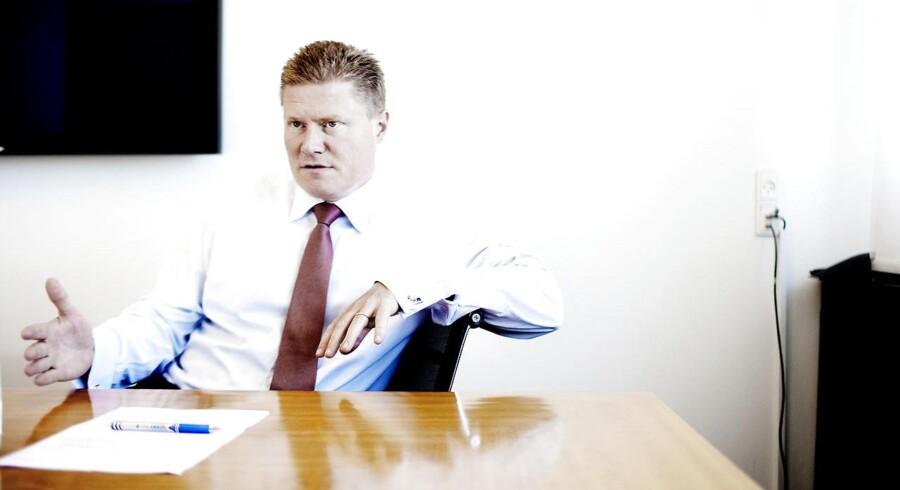 Novos mangeårige finansdirektør Jesper Brandgaard forlader sin post og skal i stedet drive strategien for den biofarmaceutiske forretning – inklusiv jagten på opkøbsmuligheder,