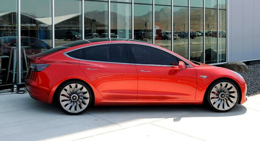 Prototype af Tesla Model 3