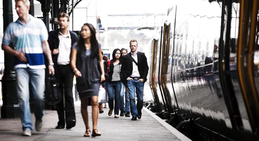 I Hovedstaden bliver det dyrere at komme til og fra arbejde i tog til næste år.