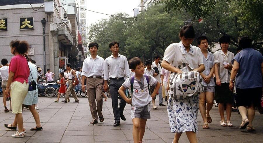 Væksten i Kina vil være aftagende resten af året