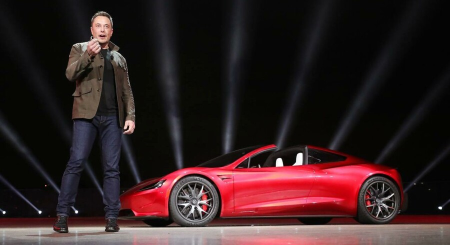 Elon Musk, topchef i Tesla.