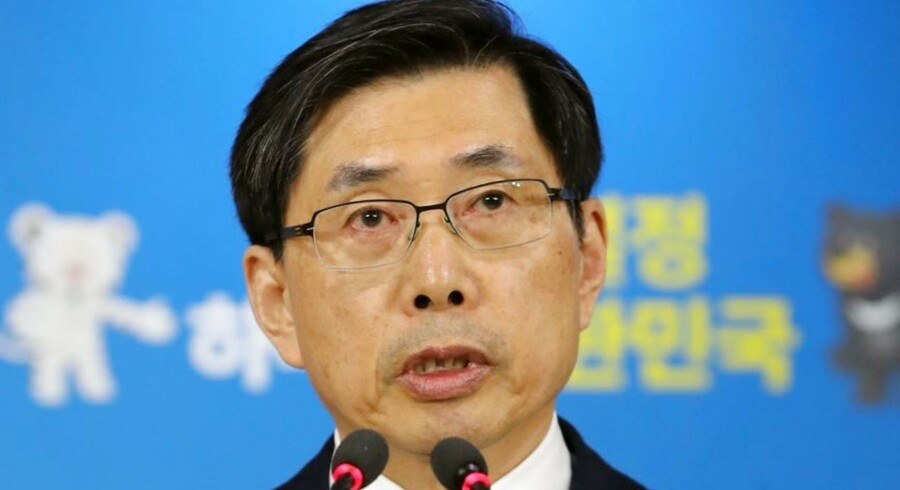 Sydkoreas justitsminister Park Sang-ki.