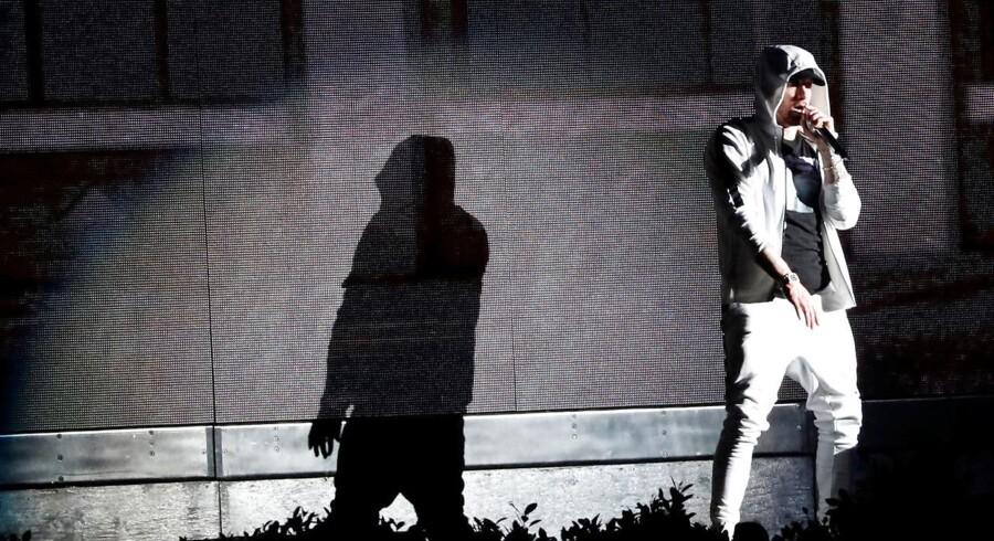 »Rap-guden« Eminem optræder onsdag på Roskilde.