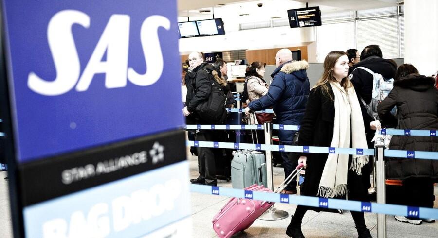 Arkivfoto: SAS slipper for at betale erstatning for forsinkelse.