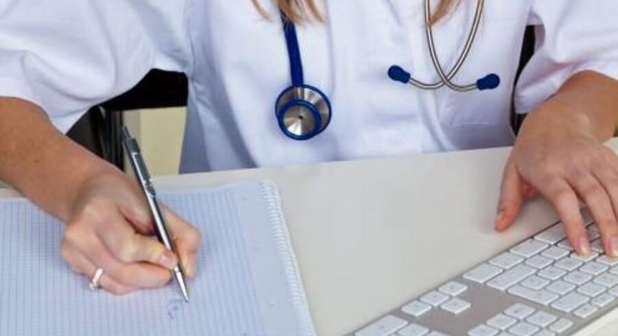 Antallet af registrerede kræftforløb er nogenlunde ensartede fra kvartal til kvartal i alle regioner undtagen Region Hovedstaden. Det skyldes implementeringen af det nye it-system Sundhedsplatformen. Free/Colourbox