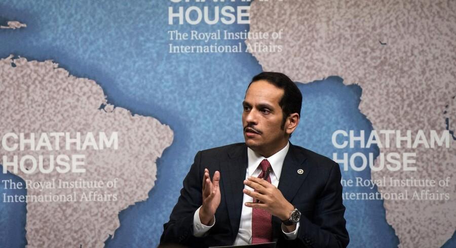 Qatars udenrigsminister, Sheikh Mohammed bin Abdulrahman al-Thani vil gerne forsøge at løse striden med en række golfstater gennem dialog.