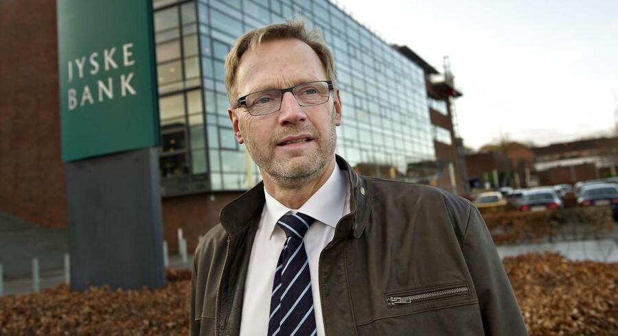 Tirsdag: Aktionærer i Jyske Bank kan se frem til en ekstra gevinst, efter at banken har fremlagt et milliardoverskud for 2016.