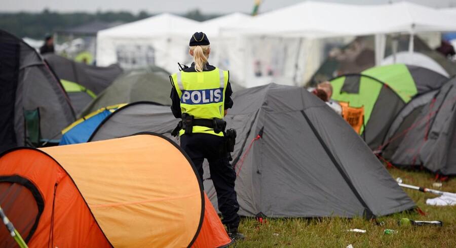 Politikvinde på Bråvallafestival i Sverige, der har annulleret næste års festival efter talrige henvendelser fra folk, der melder om seksuelle krænkelser. Arkivfoto.