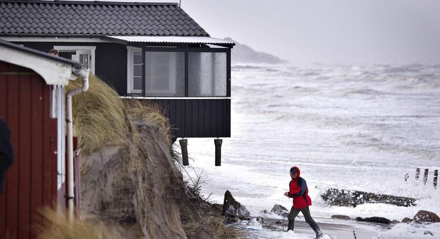 Arkivfoto: Nørlev Strand ved Lønstrup i Nordjylland.