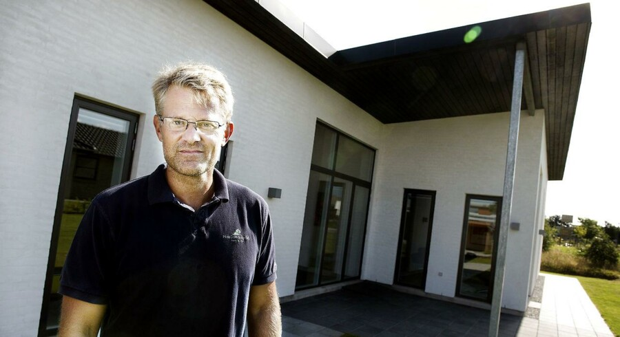 Koncernchef Steffen Baungaard i Huscompagniet.