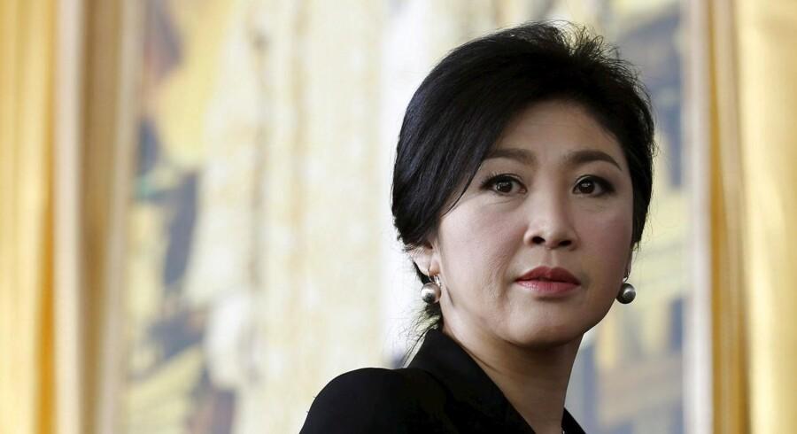 Yingluck Shinawatra har angiveligt søgt politisk asyl i London.