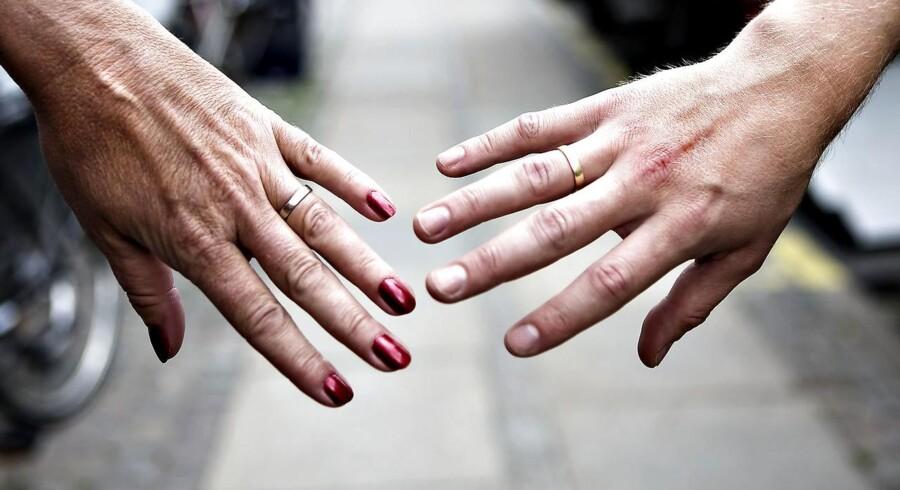Skilsmisse giver som regel et dyk i levestandarden, da der pludselig kun er en indtægt til at dække de mange faste udgifter. Det efterlader et betydeligt lavere rådighedsbeløb for de fleste. Arkivfoto: Rune Evensen/Scanpix 2016)
